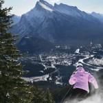 Rinne laskettelu Banff hiihtokeskus