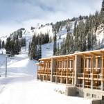 Sunshine Mountain hotelli majoitus hiihtokeskus laskettelukeskus