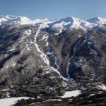 Whistler Blackcomb hiihtokeskus hiihtokylä