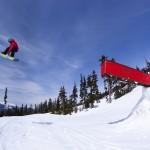 Whistler Blackcomb lumilautailu parkki hiihtokeskus