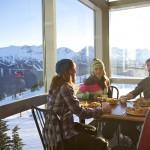 Whistler Blackcomb rinneravintola hiihtokeskus