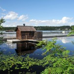 ukkohalla laituri sauna