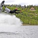 ukkohalla wakeboard hyppy