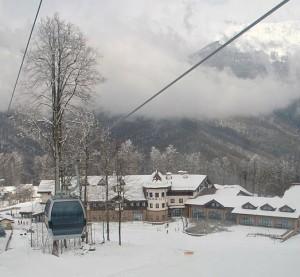 Krasnaja Poljana, Sotši ja Rosa Khutor - hiihtokeskus