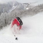Hakuba Cortina off-piste