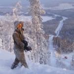 Svanstein ski hiihtokeskus maisemat