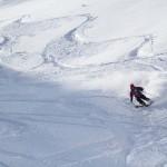 Hakuba Happo One north skier