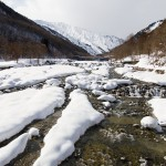 Hakuba Happo One north river