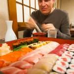 Hakuba sushi restaurant