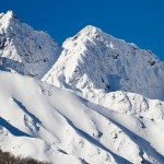 Hakuba Happo One high mountain