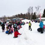 Kokonniemi Kokon snow tube tapahtuma