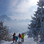 Adelboden alpit maisema