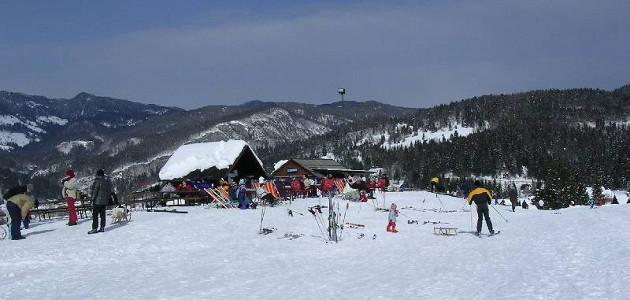 Kranjska Gora - hiihtokeskus