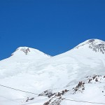 Elbrus tulivuori laskettelu
