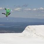 Borovets snow park lumilautailu