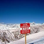 Gudauri lumivyöry varoitus off-piste