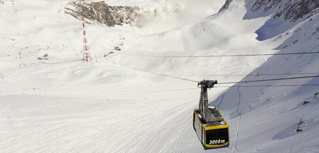 Hissi Kitzsteinhornin jäätikölle