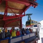 Kaprun Kitzsteinhorn top gondola lift