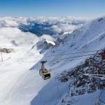 Kaprun Kitzsteinhorn glacier slope
