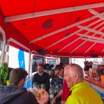 Kaprun slope bar tent