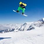 Kaprun Kitzsteinhorn snow park snowboarder