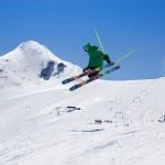 Kaprun Kitzsteinhorn snow park skier
