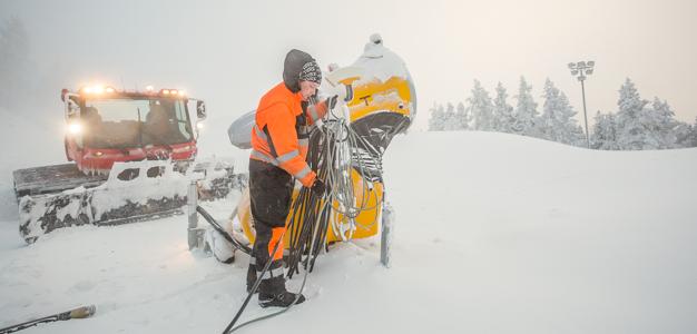 Audi FIS Ski World Cup Levi 2014  Photo: Teemu Moisio