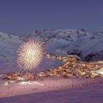alpe d'huez village fireworks