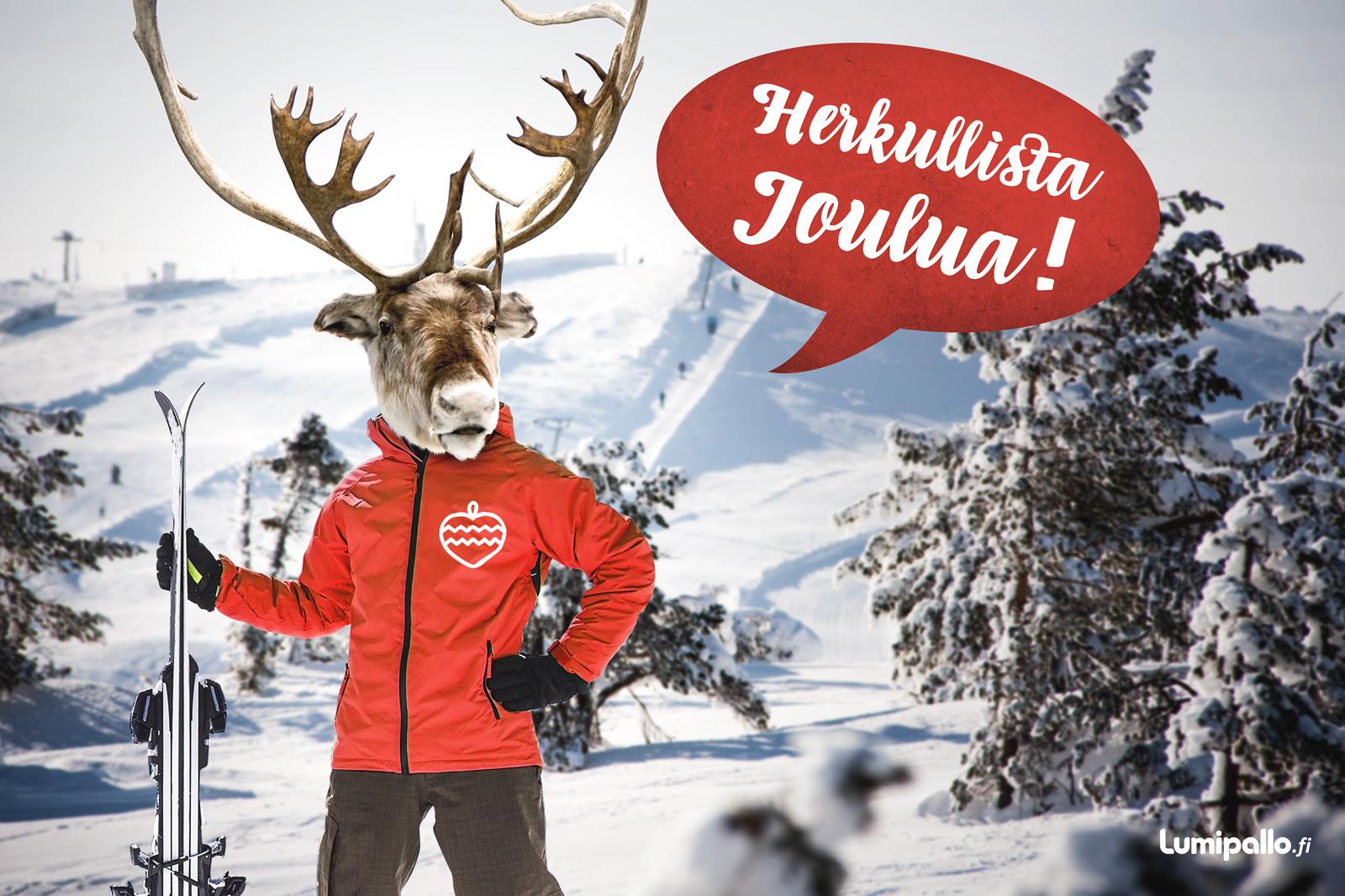 Poro toivottaa herkullista joulua!
