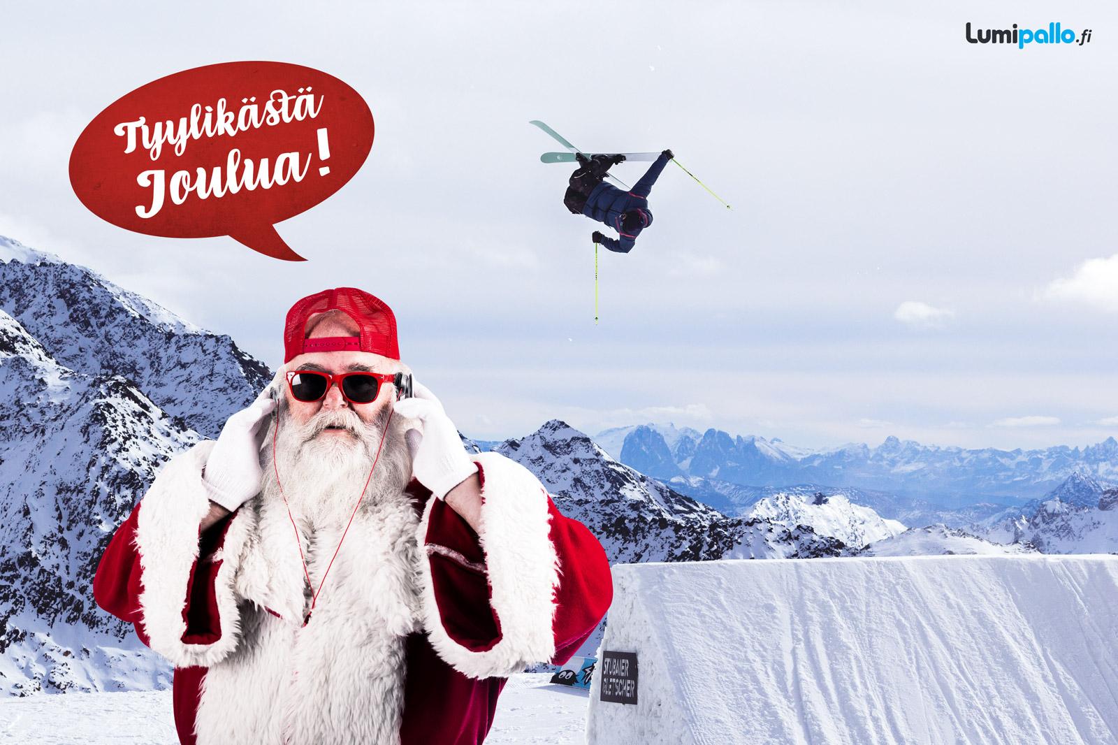 Tyylikäs pukki toivottaa tyylikästä joulua!