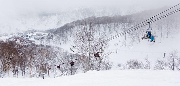 seki onsen skiing