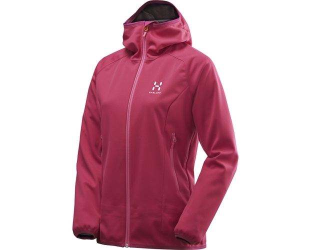 Haglöfs Mistral Hood Women Volcanic Pink
