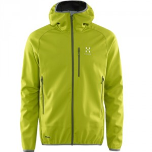 Haglöfs Mistral Hood Men Lime Green