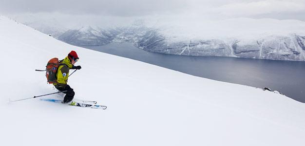 lyngen giilavarri skiing