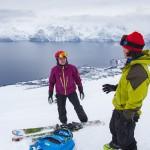 lyngen storhaugen skiers