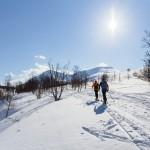 lyngen russelvfjellet ski touring