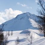 lyngen russelvfjellet scenery