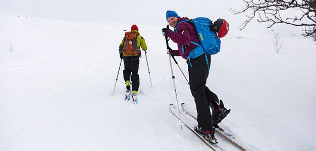 lyngen storhaugen ski touring