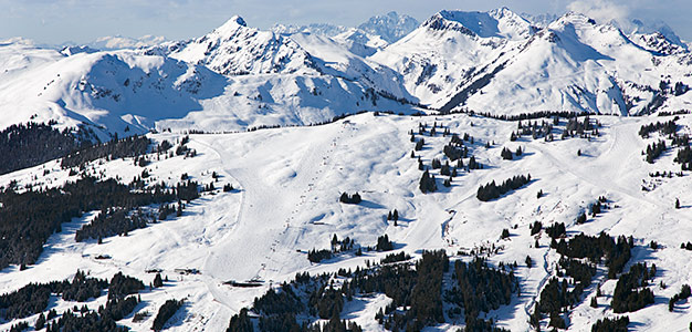 saalbach schattberg view