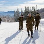 myoko army skiing