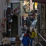 nozawa onsen town streets