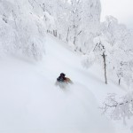 nozawa onsen off piste snowboarding