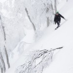 nozawa onsen off piste snowboard
