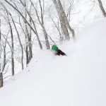 nozawa onsen offpiste skier