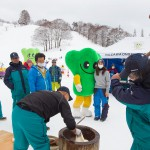nozawa onsen event mascot