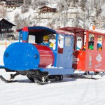 saalbach kids snow train