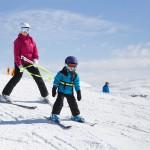 saalbach zwölferkogel kid skier