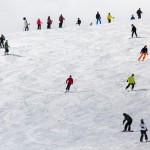 saalbach skiers