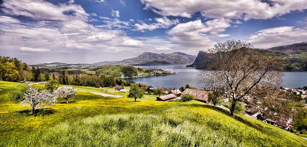 Sveitsi-maisema