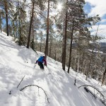 salla off piste backside